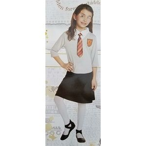 NEW Harry Potter Girls Halloween Costume Dress 4-6